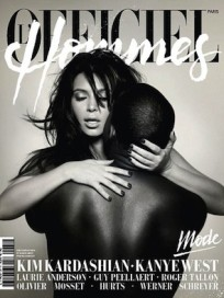Kim Kardashian and Kanye West Magazine Cover