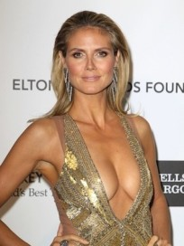 Heidi Klum Academy Awards Dress