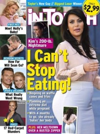 Kim Kardashian Fat Cover