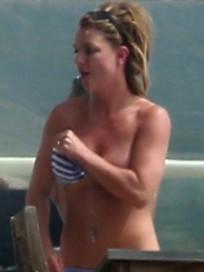 Britney Spears in Bikini Pic