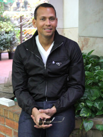 Alex Rodriguez Sitting Down