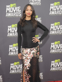 Zoe Saldana at MTV Movie Awards
