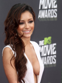 Melanie Iglesias at MTV Movie Awards