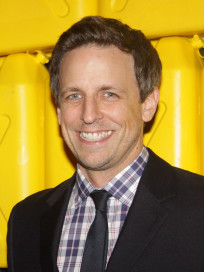 Seth Meyers in New York