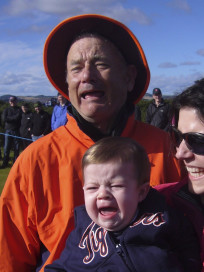 Bill Murray, Crying Baby