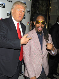 Donald Trump and Lil Jon
