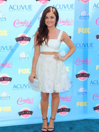 Lucy Hale at the Teen Choice Awards
