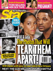 Will Smith and Margot Robbie Cover