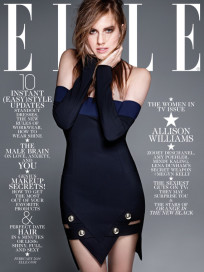 Allison Williams Elle Cover