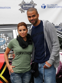 Eva Longoria and Tony Parker Pic
