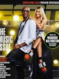 Nicki Minaj and Kobe Bryant ESPN Magazine Cover