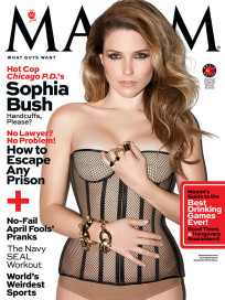 Sophia Bush Maxim Cover