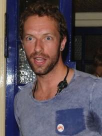 Chris Martin Smiling Photo