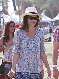 Minnie Driver at Coachella