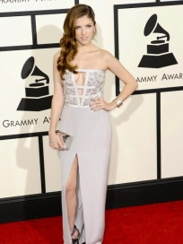 Anna Kendrick at the Grammys