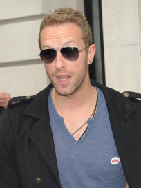 Chris Martin in London