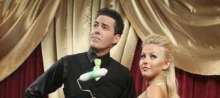 Julianne Hough and Adam Carolla