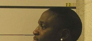 Akon mug shot side action