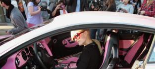 Pink Bentley