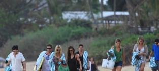 The hills cast in hawaii
