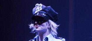 Britney spears as a cop