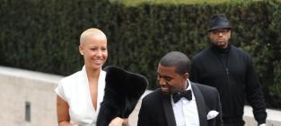 Kanye west amber rose pic