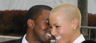 Kanye and Amber Rose