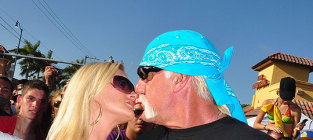 Jennifer mcdaniel hulk hogan kiss