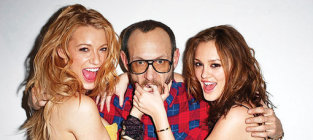 Leighton meester blake lively photo