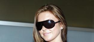 Audrina in sunglasses