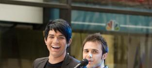 Kris and adams bromance