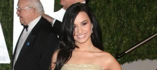 Demi at a Party