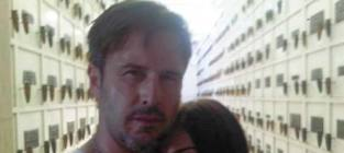 David arquette and jasmine waltz
