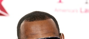 Lebron at all star party