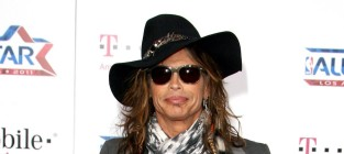 Steven tyler at the all star game