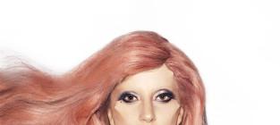 Gaga pretty in pink