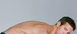 Aaron schock shirtless