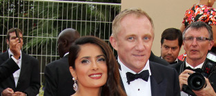 Franois henri pinault and wife