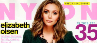 Elizabeth Olsen Covers Nylon