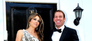 Shane Warne and Elizabeth Hurley: Engaged!