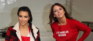 Kim Kardashian, Other Celebs Feed the Homeless for Thanksgiving