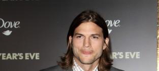 Ashton kutcher at new years eve premiere