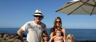 Charlie sheen denise richards and kids