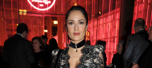 Salma Hayek Lace Dress: Fab or Fail?