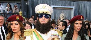 The dictator at the oscars