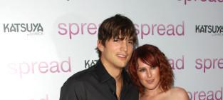 Ashton Kutcher Supports Rumer Willis, Attends Los Angeles Concert