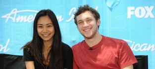 Jessica Sanchez and Phillip Phillips