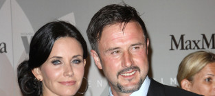 David arquette and courteney cox photo