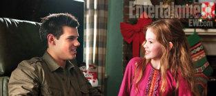Taylor Lautner and Mackenzie Foy