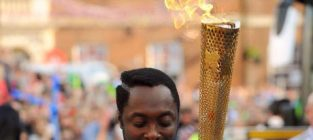 William olympic torch